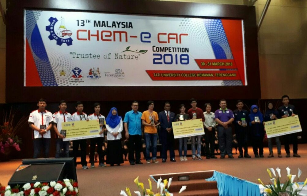 Chem-E-Car Competition 2018