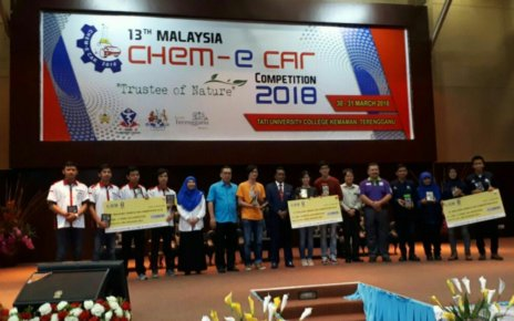 Chem-E-Car Competition 2018