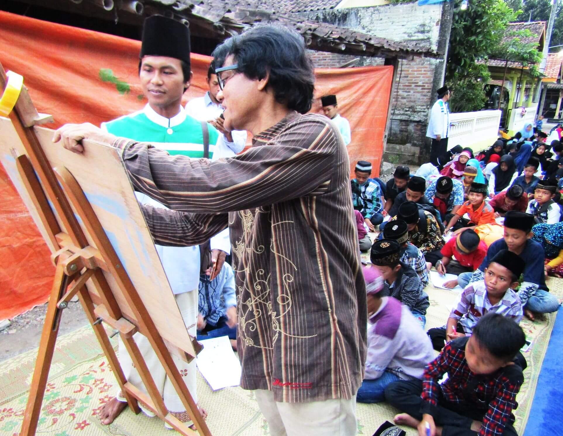 Kartun Ramadhan Warnai Kegiatan Buka Bersama Di Borobudur
