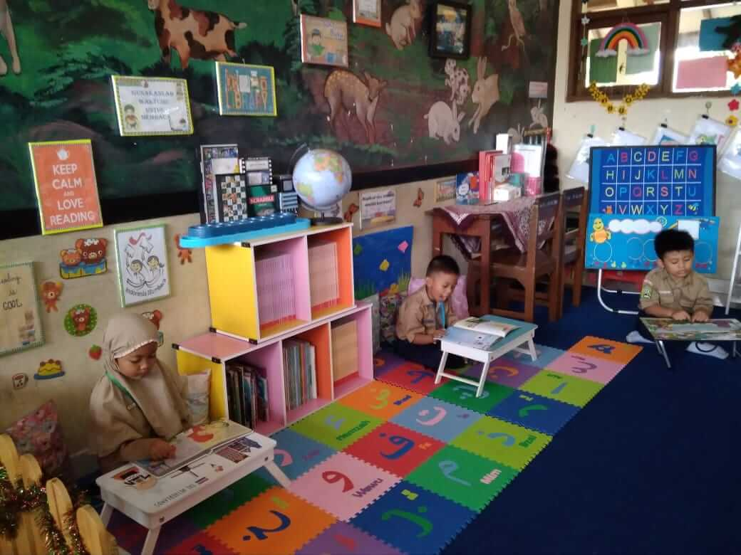 Sd Mutual Sulap Ruang Kelas Jadi Pojok Baca Siedoo