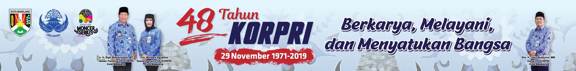Banner Hari KORPRI