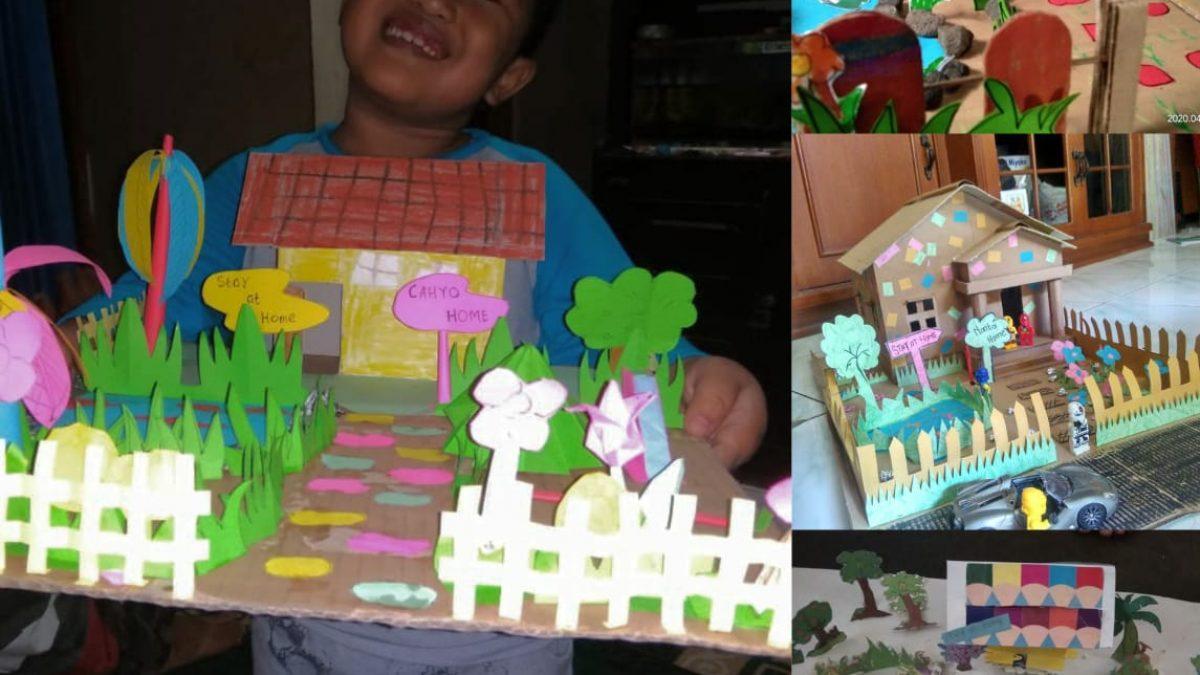 Masa Belajar Di Rumah Anak Anak Tk Pertiwi Soka Kembangkan Kreativitas Siedoo