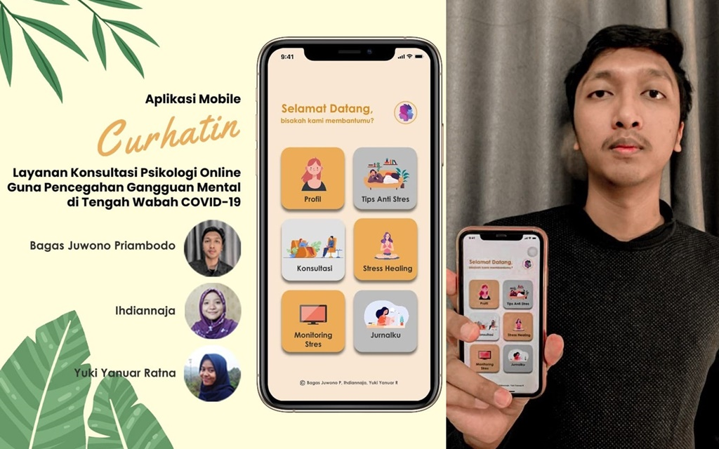 Ciptakan Aplikasi Curhatin Mahasiswa Its Raih 17 Ide Terbaik Nasional Siedoo