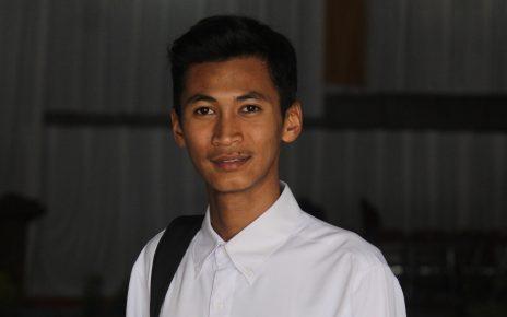 SENAT. Ketua Senat Mahasiswa STAINU Temanggung, Ahmad Farichin. (foto: ist)