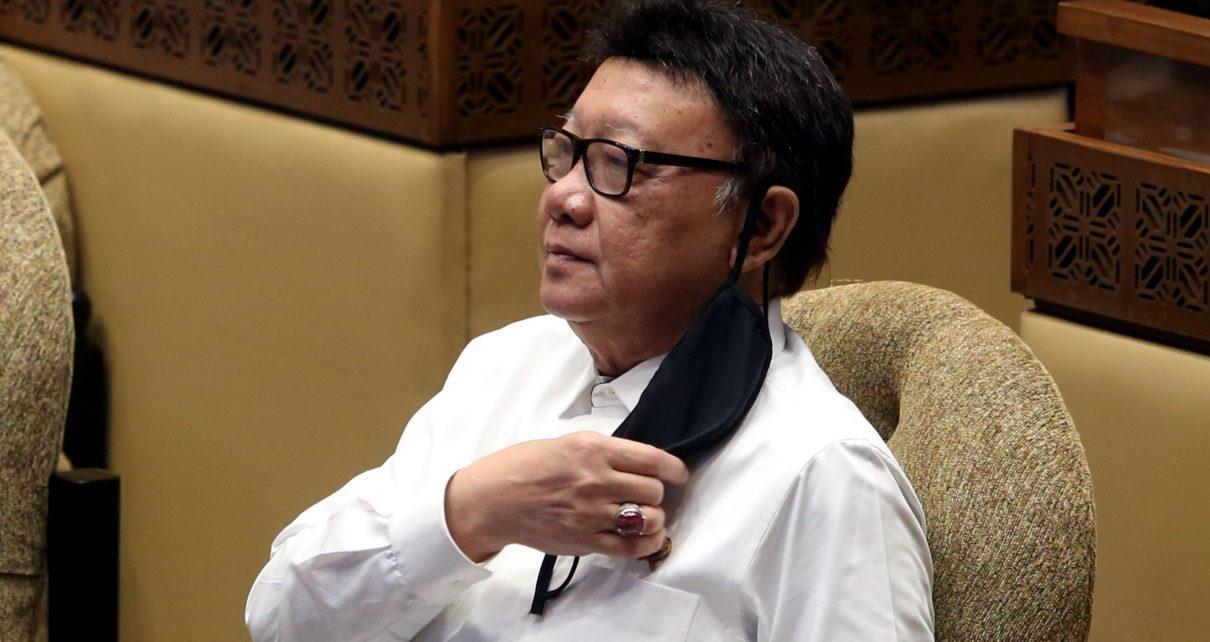 MENPAN. Menteri Pendayagunaan Aparatur Negara dan Reformasi Birokrasi (PAN-RB) Tjahjo Kumolo. (foto: jpnn.com)