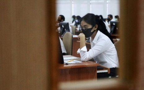 SKB. Seleksi Kompetensi Bidang (SKB) CPNS di tengah pandemi. (foto: detik.com)