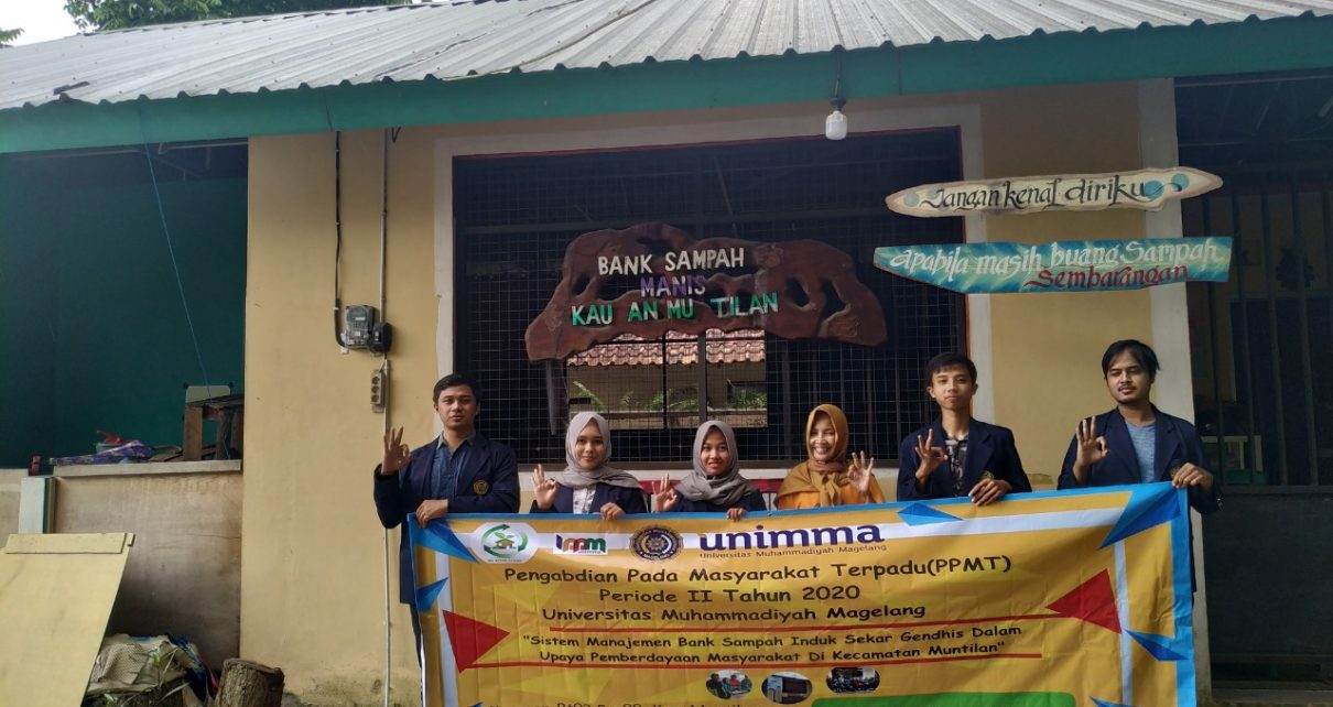 PENGABDIAN. Pengabdian Pada Masyarakat Terpadu (PPMT) Universitas Muhammadiyah Magelang (Unimma). (foto: ist)