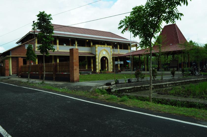 SEKOLAH. Gedung SD Islam Tahfidz Qur'an As Syafi'iyah Magelang. (foto: ist)