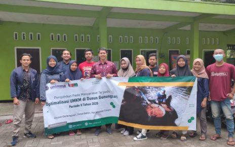 PENGABDIIAN. PPMT Unimma di Gunungsari, Gulon, Salam, Magelang (foto: ist)