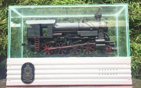 LOKO. Miniatur lokomotif karya mahasiswa UNY. (foto: ist)