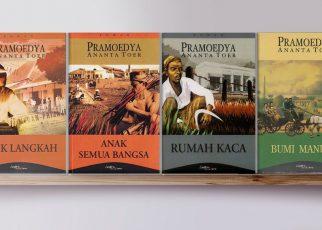 KARYA. Buku sastra karya Pramoedya Ananta Toer. (sumber: tirto.id)