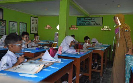 BELAJAR. Pembelajaran tatap muka. (foto: mediaindonesia)